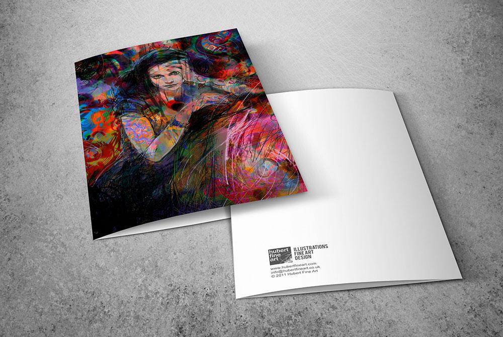 Hubert fine art limited edition fine art greetings cards from fine art greetings cards firestarter by hubert fine art m4hsunfo